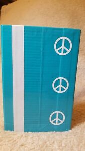 Homemade Server Waitress Guest Check Money Book Duct Tape Turquoise Peace
