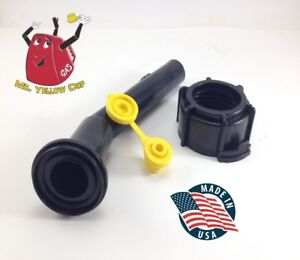 1 Blitz Gas Can Nozzle Spout Ring Vent Replacement Vintage Diesel Plastic New