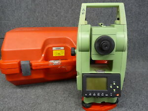 Leica Tcr307 Total Station For Surveying