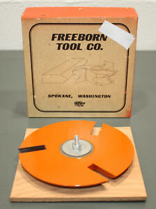 Freeborn Tool Raised Panel Pc 14 001 1 1 4 Bore Carbide Tipped Shaper Cutter