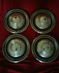 1968 Chevrolet Impala Hubcaps Chevy Wheel Covers Caprice Belair