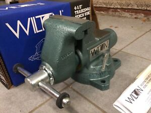 Wilton 63199 Tradesman Bench Vise 1745 4 1 2 Jaw Made In Usa New In Box