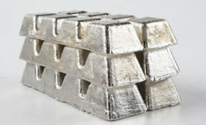 Tin Metal Ingot 99 9 Pure 4 Pounds Raw Tin Metal Ingot