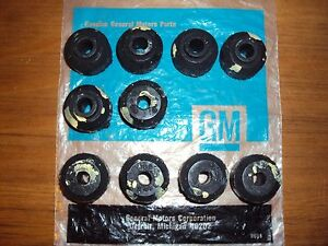 10 Gm Nos Chevelle Ss Super Sport Malibu Sway Bar End Link Bushings 396 427 454