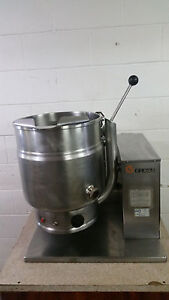 Groen Tdh 20 Steam Jacketed Manual Tilt Kettle 20 Quart Tested Natural Gas 115v