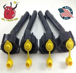 4 Blitz Gas Can spouts Rings Vents Replacement Vintage 900302 900092 New