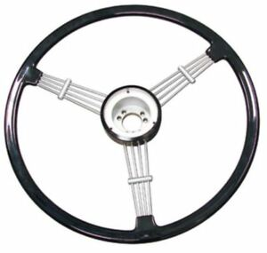 Banjo Style Vintage Steering Wheel Kit Black