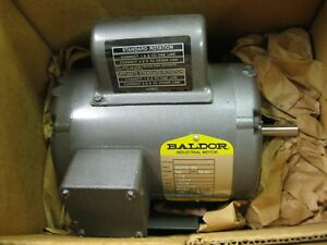 Baldor 65715 Ac Motor Single Phase 1 12 Hp 1400 1700 Rpm