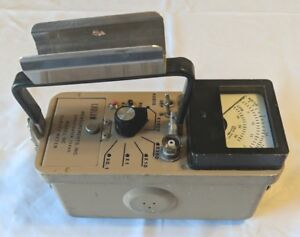 Ludlum Geiger Meter Ludlum 14c Geiger Counter Radiation Survey Meter