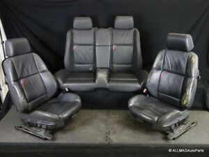 98 99 Bmw E36 M3 Convertible Leather Front And Rear Sport Seats