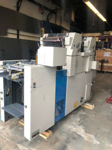 Ryobi 3302m Printing Press 2 Color