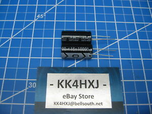 Sc Km Series Radial Electrolytic Capacitors 25v 10000uf 2 Pieces
