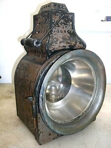 Peter Gray Headlight For Steam Traction Engine Or Antique Tractor Or Train Lamp