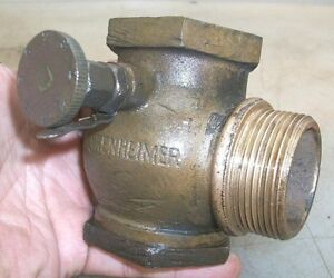 1 1 2 Old Style Lunkenheimer Carb Or Fuel Mixer Old Gas Hit And Miss Engine