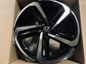20 Black Hfp Style Rims Wheels Fits Honda Ex Exl Crv Accord Sport 5x114 3