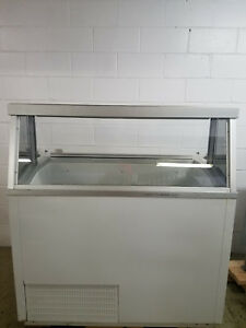 Hussman Ice Cream Dip Cabinet 8 Tub No Tag Tested 115v Freezer