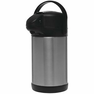Hubert Thermal Airpot Coffee Dispenser With Stainless Steel Liner 2 5 Liter 8