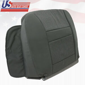 2006 Dodge Ram 2500 Front Driver Bottom Seat Cover Cloth In Med Slate Gray