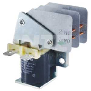 Nte Electronics Rly7523 Relay spdt 20a 24vdc 250 Qc Terminals