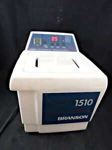 Branson Bransonic 1510r dth Heating Ultrasonic Cleaner Heated Water Bath