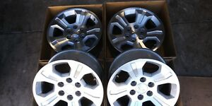 18 Chevy Truck Alloy Wheels 6 On 5 5 8 5 Wide Oem