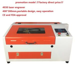 50w Laser Engraver Cutter 4030 Wood Acyrlic Rubber Engraving Cutting Machine
