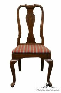 Ethan Allen Georgian Court Queen Anne Dining Side Chair 11 6211