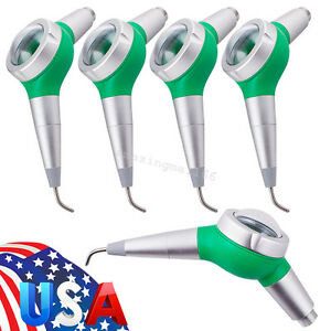 5x Usa Dental Air Flow Teeth Polishing Polisher Handpiece Hygiene Jet 2 Hole 2h