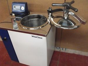 Wiseclave Wacs 1080 Top loading Steam Sterilizer Portable Autoclave On Wheels