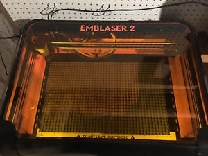 Used Once Darkly Labs Emblaser 2 Laser Cutter With Air assist 5w Diode Laser