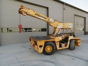 2008 broderson Ic80 2g Carry Deck Crane Lmi 17 000 Lbs Capacity Grove Iowa