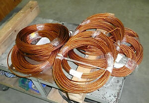 Litz Wire Magnet Wire Cut Length 75 Feet 22awg 45 Strand 6awg equivalent