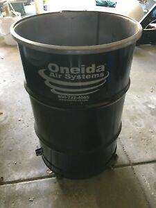 Oneida Air Systems 50 gallon Steel Drum For Dust Collection Systems cobra deputy
