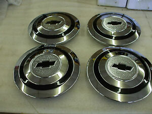1930 32 Chevy Car 1931 34 Truck Set Of Four New Hub Caps L K