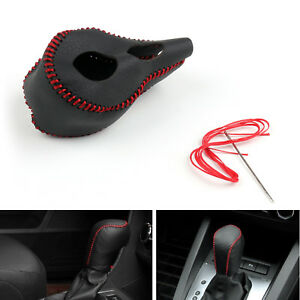Genuine Leather Gear Shift Knob Cover Automatic For Honda Odyssey 2010 2014 Ue