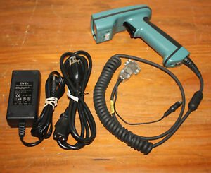 Hand Held Products Hhd Barcode Scanner With Power Supply 4410hd 131ck