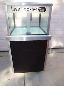 Sea Water Visions 50 Gallon Lobster Tank For Restaurant Or Grocery Store