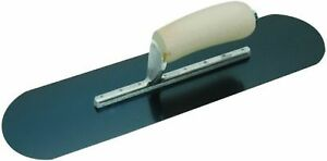 Marshalltown Sp81br8 18 x4 Exposed Rivet Blue Steel Pool Trowel