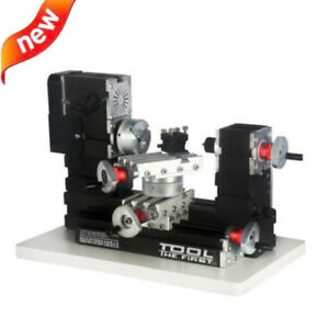 Metal Rotating Lathe Motor Diy Tools Drilling Machine 12000r min 60w