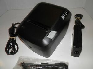Posx Xr520 Thermal Pos Receipt Printer Parallel Usb W Power Supply