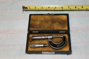 Mitutoyo Depth Micrometer Jt Slocomb Co Micrometer Used As Shown Vintage
