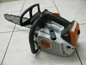 Stihl Ms193t Arborist Top Handle Professional Chainsaw Nice Saw