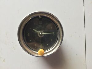 1951 1952 Chevrolet Wind Up Dash Clock