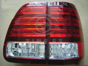 Rear Car Led Tail Lights Rear Lamp Red White Light Fit For Lexus Lx470 2003 2005