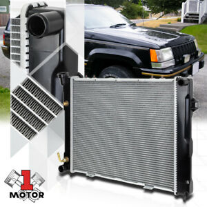 Aluminum Core Radiator Oe Replacement For 93 97 Jeep Grand Cherokee At Dpi 1396