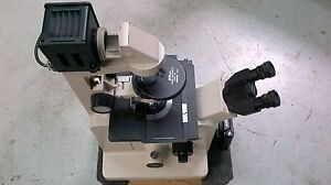 Nikon Diaphot Phase Contrast Inverted Microscope