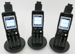 Lot Of 3 Polycom Spectralink 7520 Wireless Phone Handsets 02431000