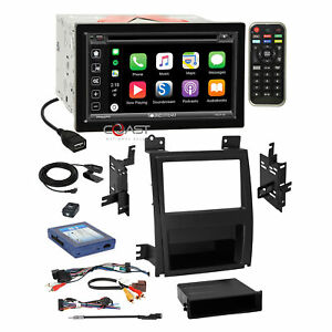 Soundstream Dvd Carplay Stereo Dash Kit Bose Harness For 07 Cadillac Escalade