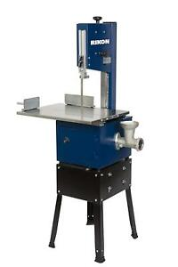Rikon 10 308 Meat Saw With Grinder 10 inch