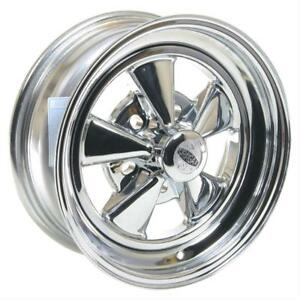 Cragar 08 61 S S Super Sport Chrome Wheel 15 X6 5x4 75 Bc Set Of 2